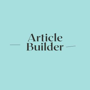 Buy Article Builder
